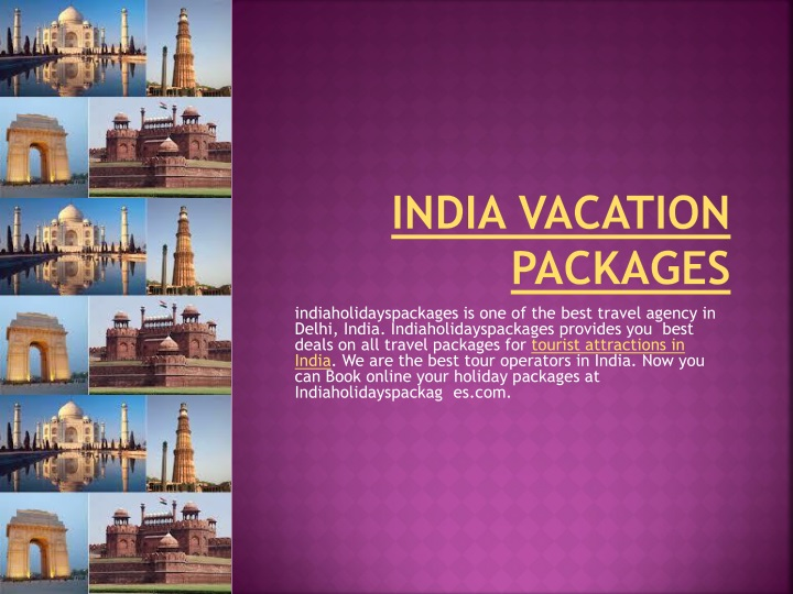 india vacation packages n.
