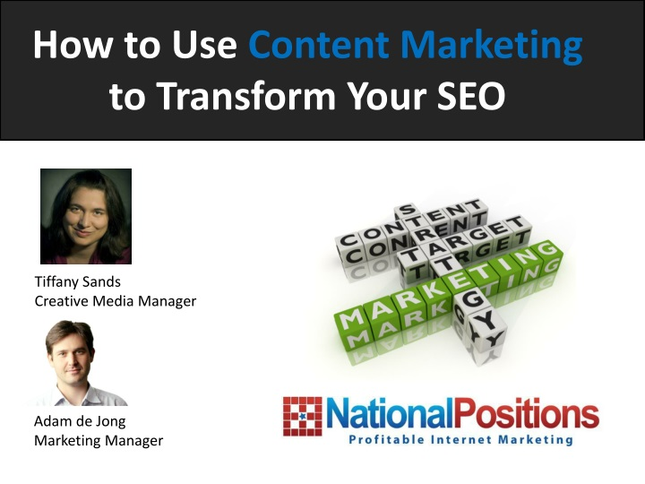 how to use content marketing to transform your seo n.