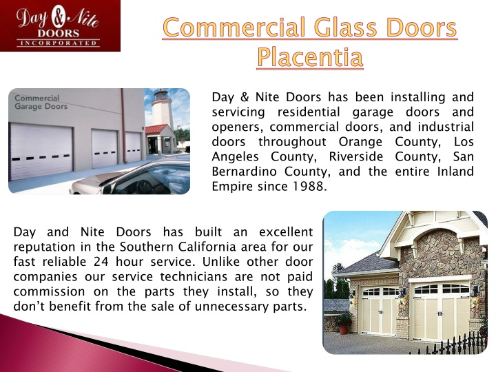 commercial glass doors placentia n.