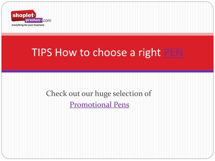 tips how to choose a right pen n.