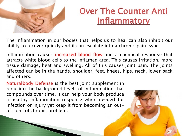 over the counter anti inflammatory n.