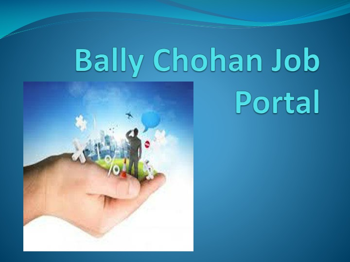 bally chohan job portal n.
