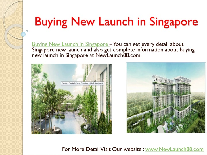 buying new launch in singapore n.