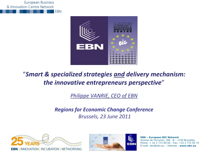 smart specialized strategies and delivery n.