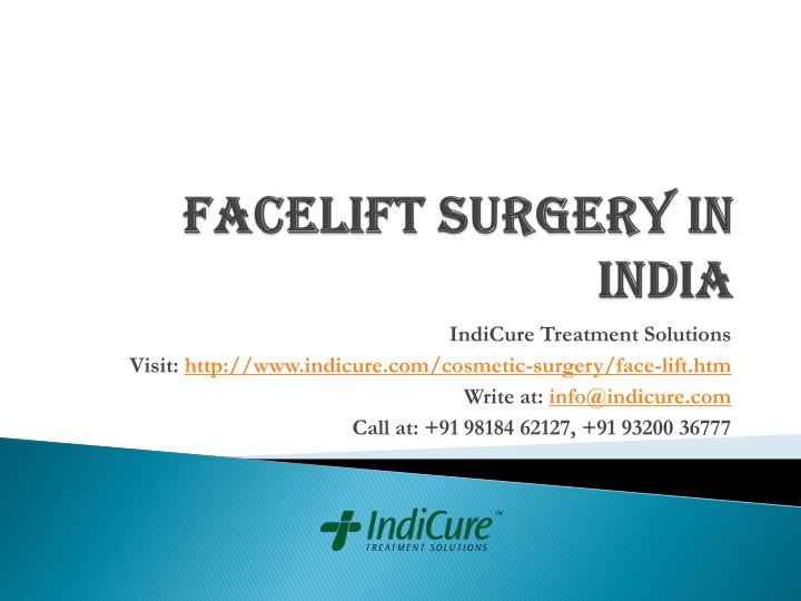 facelift surgery in india n.