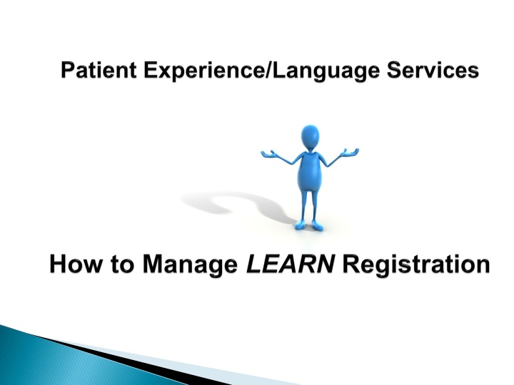 patient experience language services how to manage learn registration n.