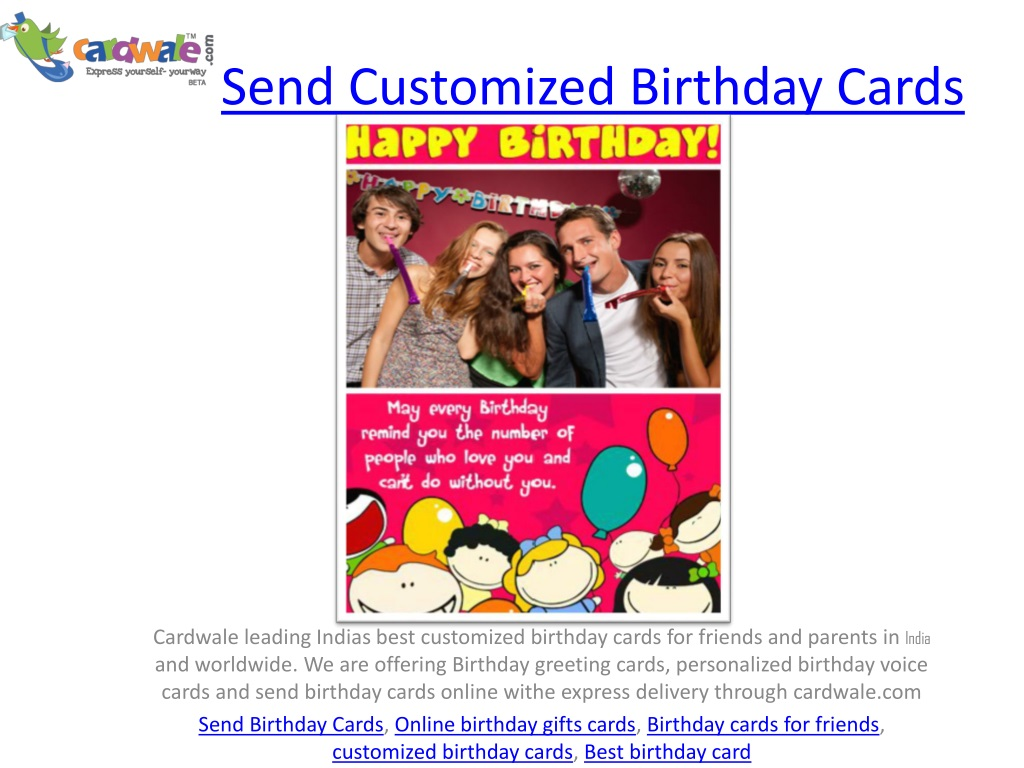 Ppt Customized Birthday Cards Powerpoint Presentation Free Download Id 1372061