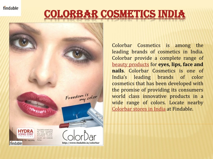 colorbar cosmetics india n.