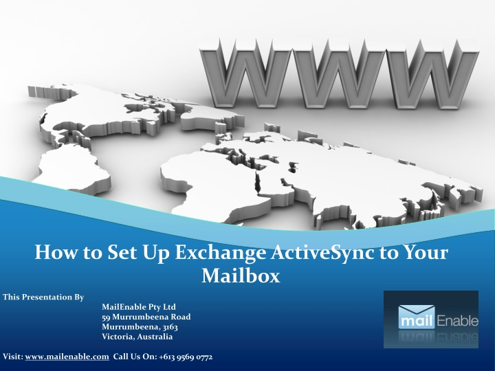 this presentation by mailenable n.