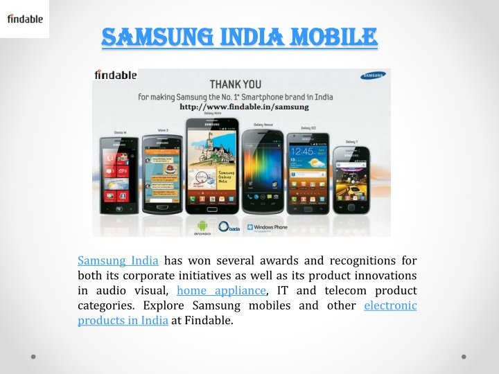 samsung india mobile n.