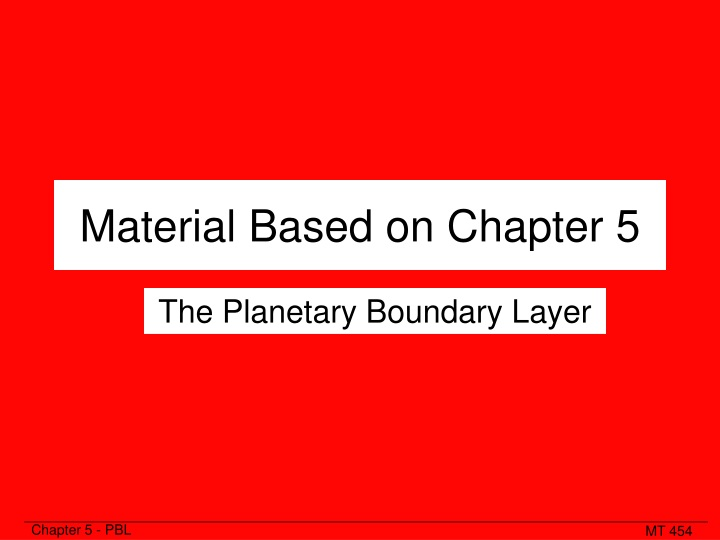 material based on chapter 5 n.