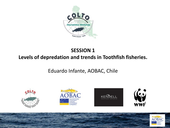session 1 levels of depredation and trends n.