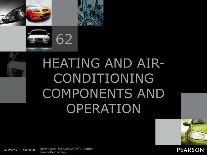 heating and air conditioning components and operation n.