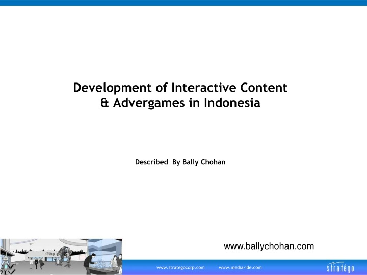development of interactive content advergames in indonesia n.
