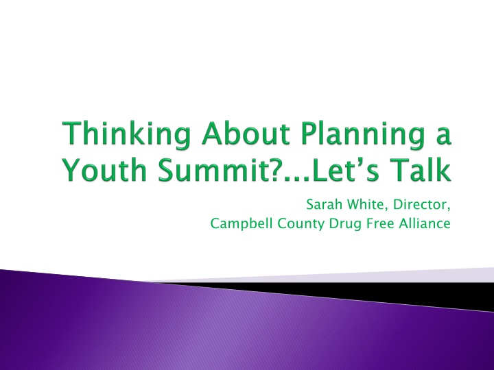 thinking about planning a youth summit let s talk n.