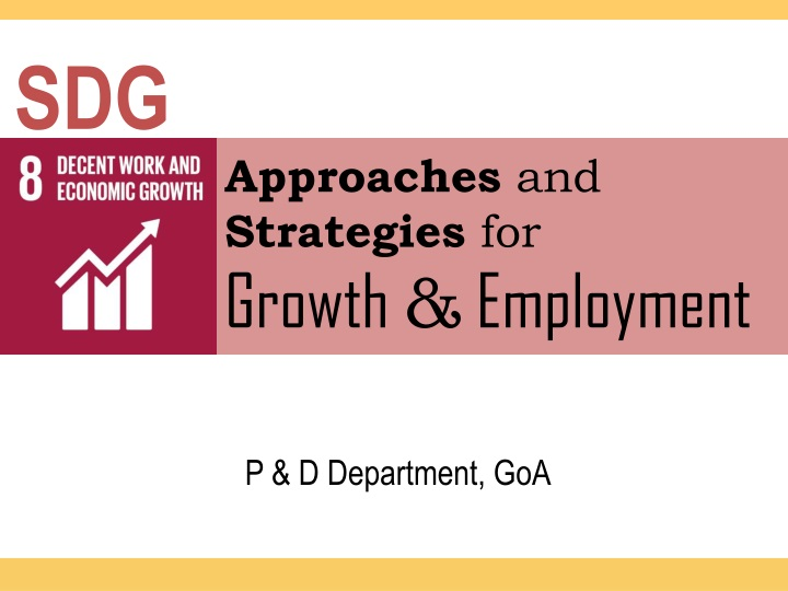 approaches and strategies for growth employment n.