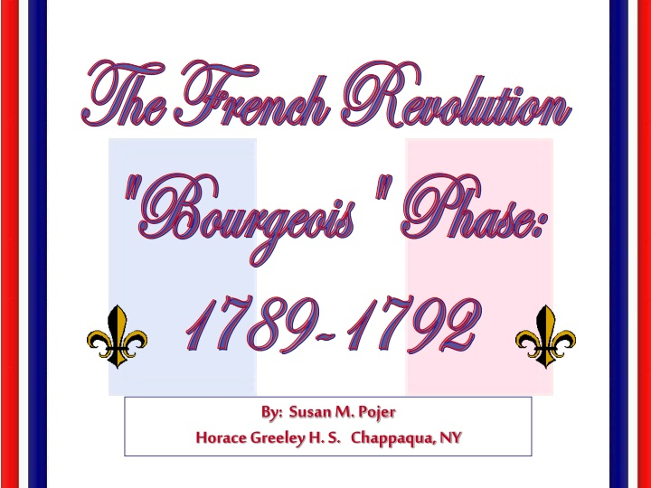 the french revolution bourgeois phase 1789 1792 n.
