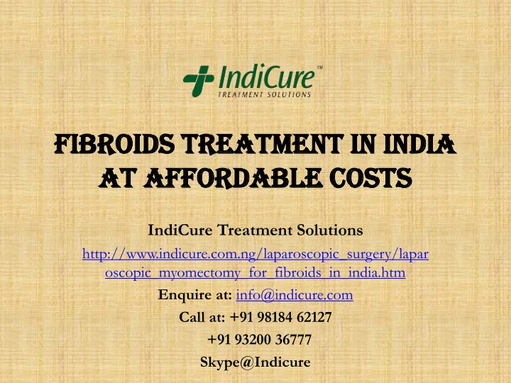 fibroids treatment in india at affordable costs n.