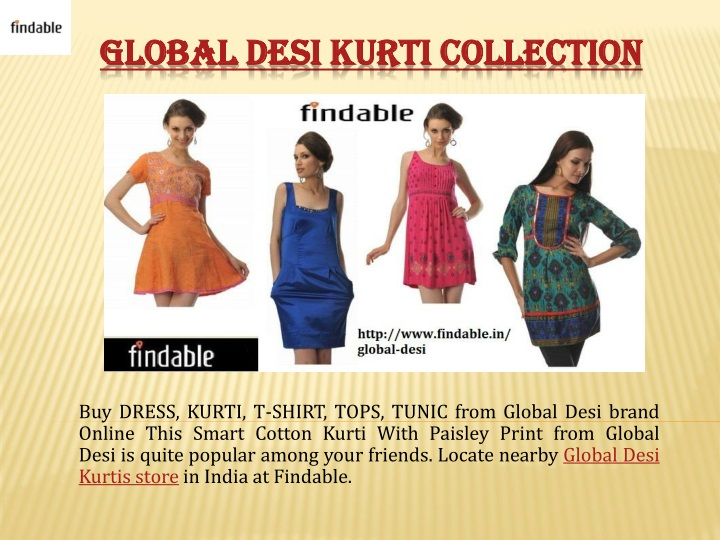 global desi kurti collection n.