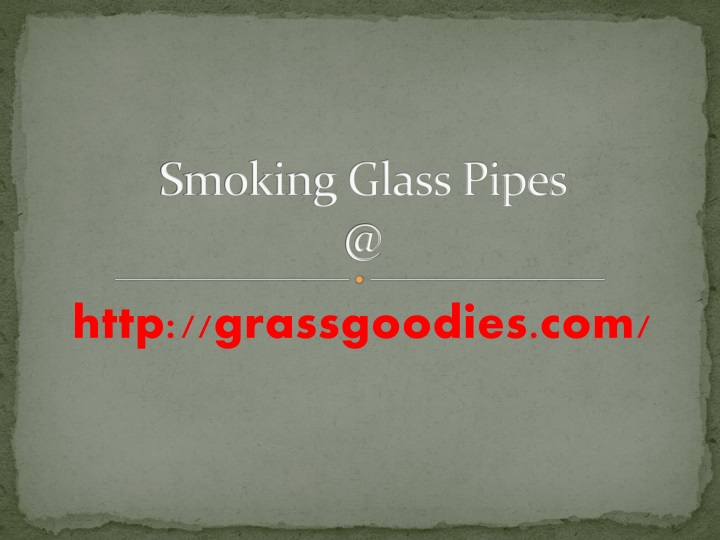 smoking glass pipes @ n.
