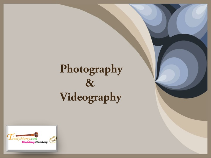 photography videography n.