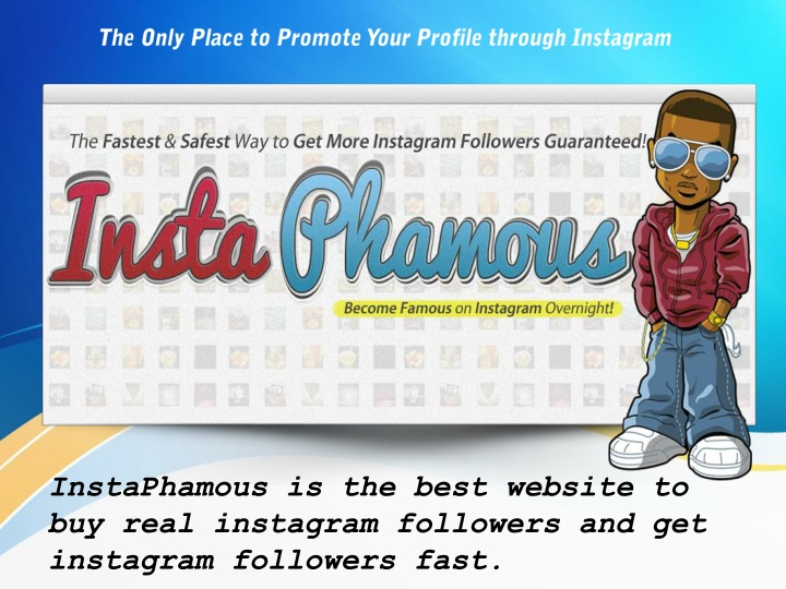 the only place to promote your profile through instagram n.