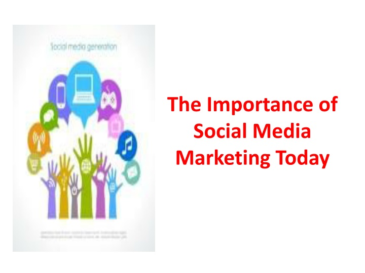the importance of social media marketing today n.