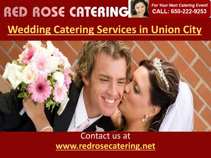wedding catering services in union city n.