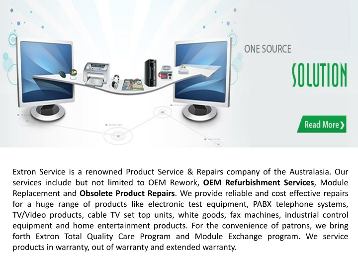 extron service is a renowned product service n.