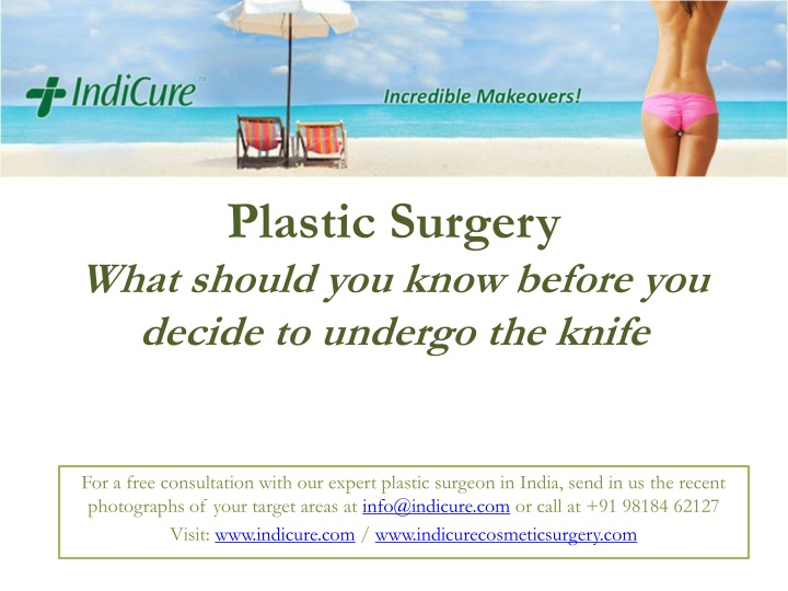 plastic surgery what should you know before you decide to undergo the knife n.