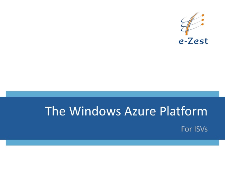 the windows azure platform n.