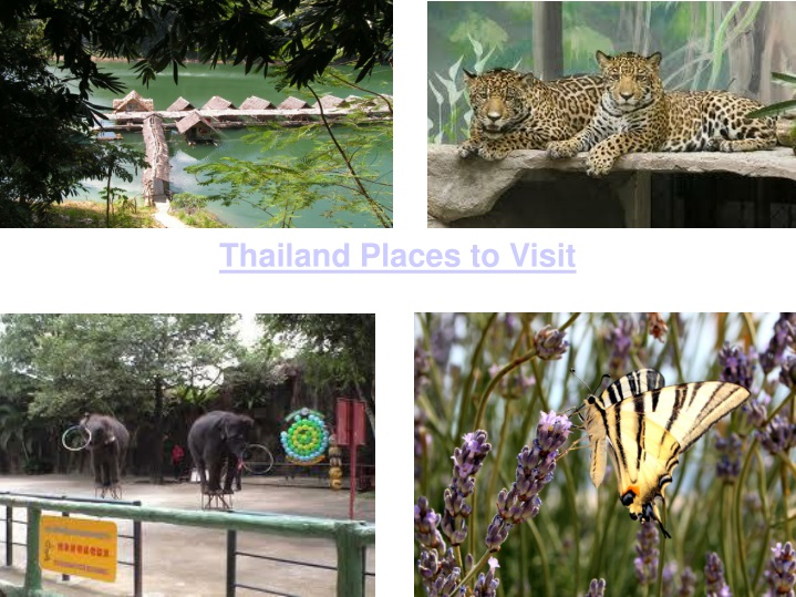 thailand places to visit n.