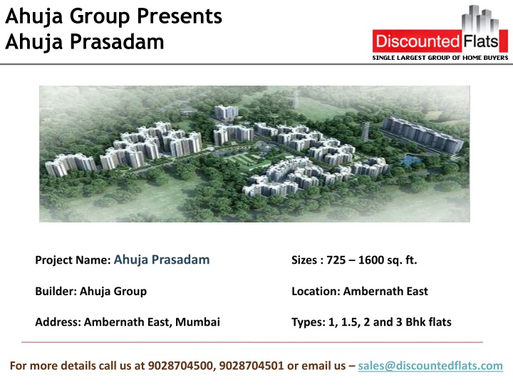 ahuja group presents ahuja prasadam n.