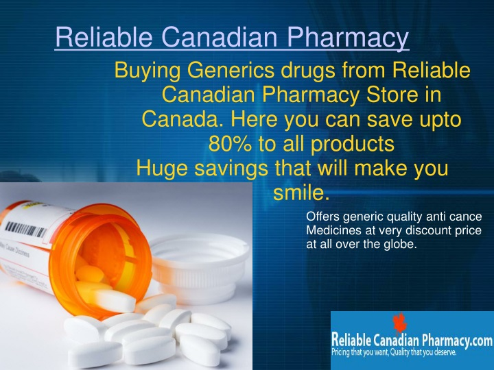 reliable canadian pharmacy n.