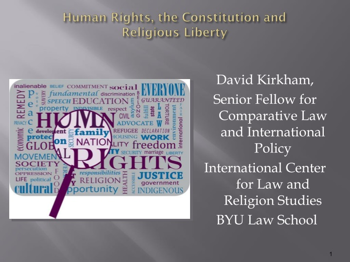 human rights the constitution and religious liberty n.