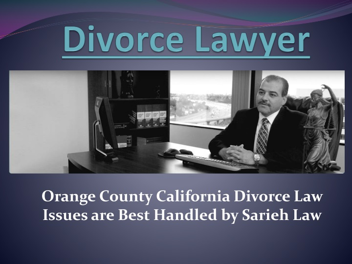divorce lawyer n.