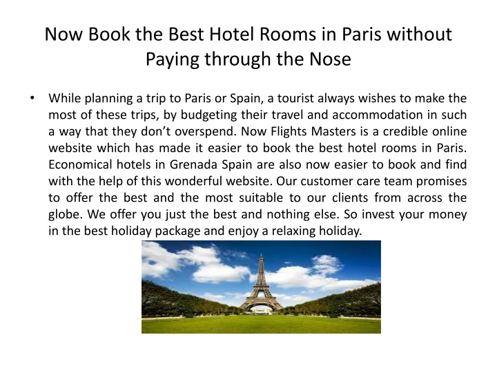 now book the best hotel rooms in paris without paying through the nose n.