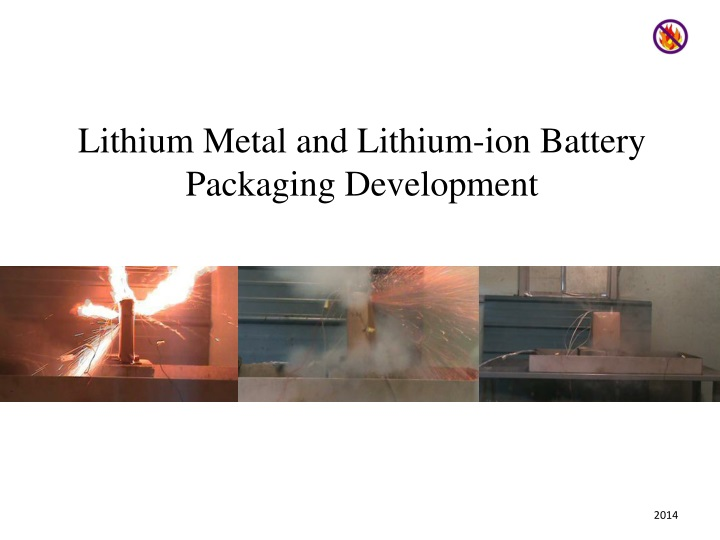 lithium metal and lithium ion battery packaging n.