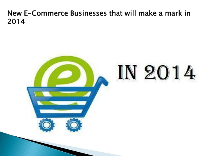 new e commerce businesses that will make a mark n.