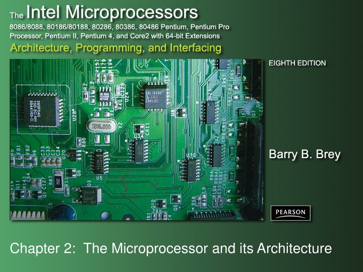 chapter 2 the microprocessor and its architecture n.