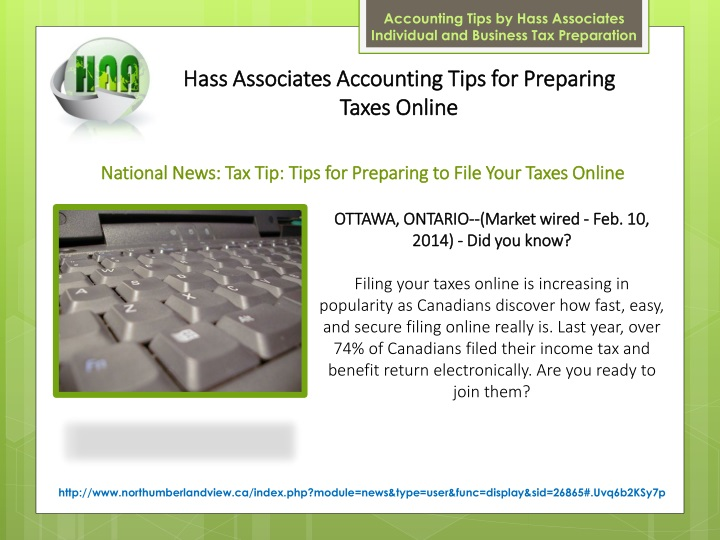 accounting tips by hass associates individual n.
