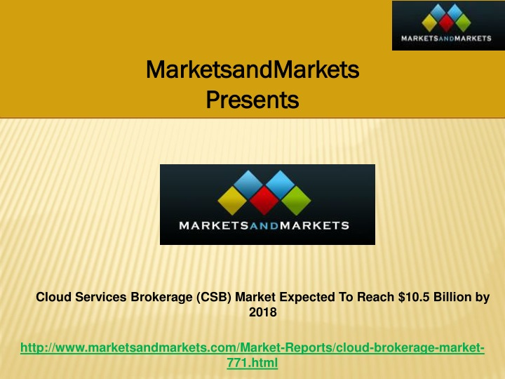 marketsandmarkets presents n.
