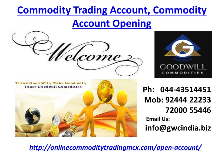commodity trading account commodity account opening n.