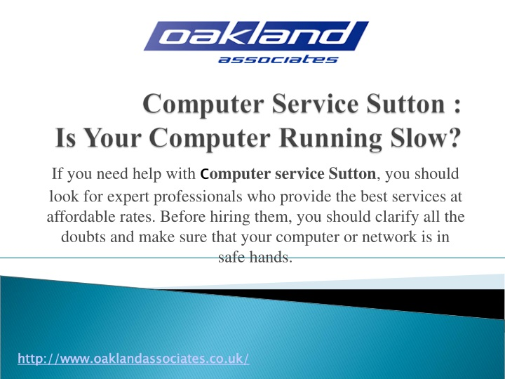 if you need help with c omputer service sutton n.