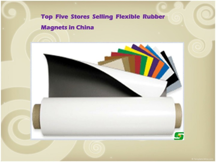 top five stores selling flexible rubber magnets n.