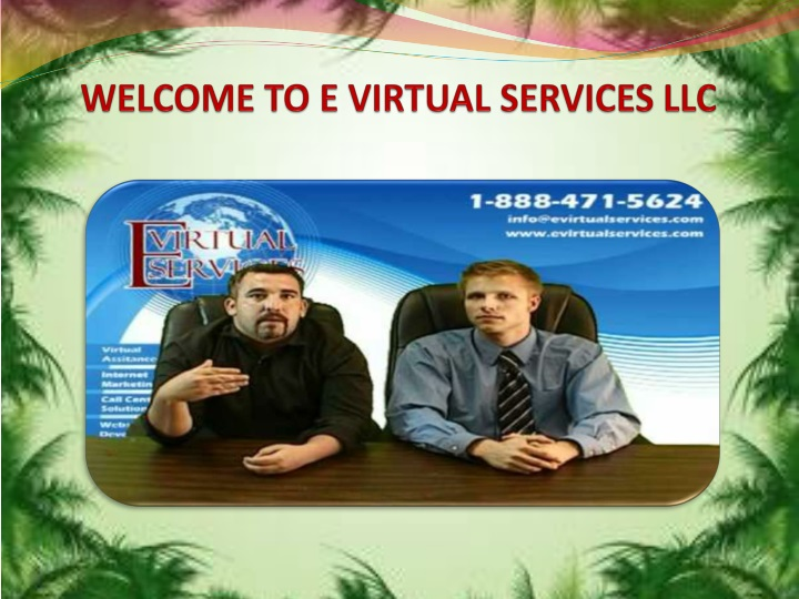 welcome to e virtual services llc n.