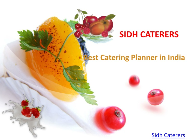 sidh caterers n.