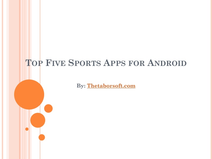top five sports apps for android n.