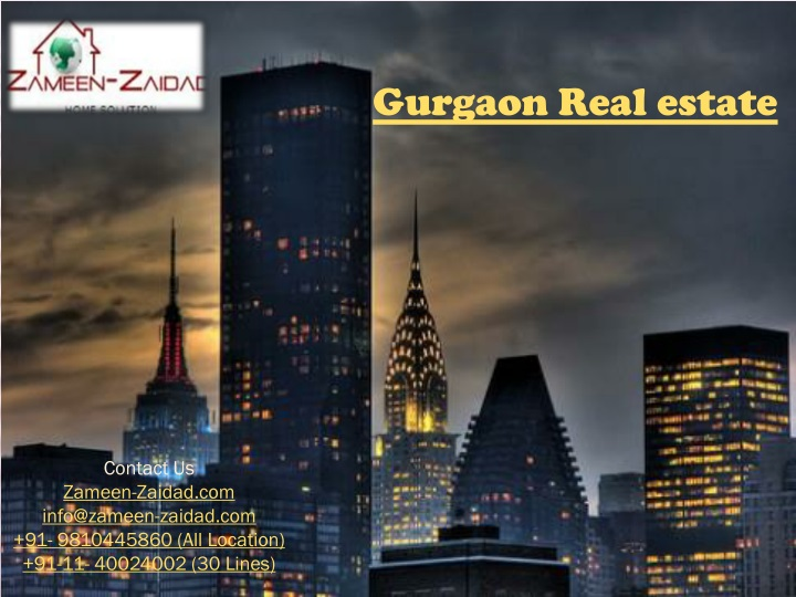 gurgaon real estate n.