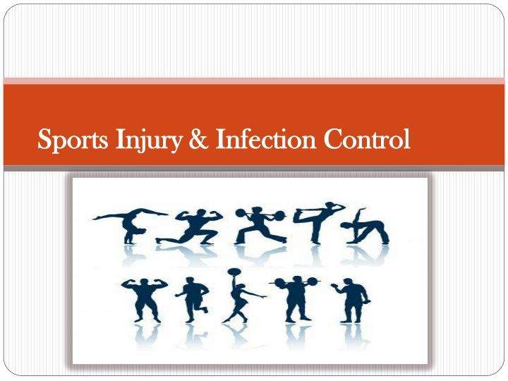 sports injury infection control n.